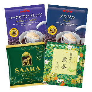 gift 紅茶・煎茶入り味わいセット